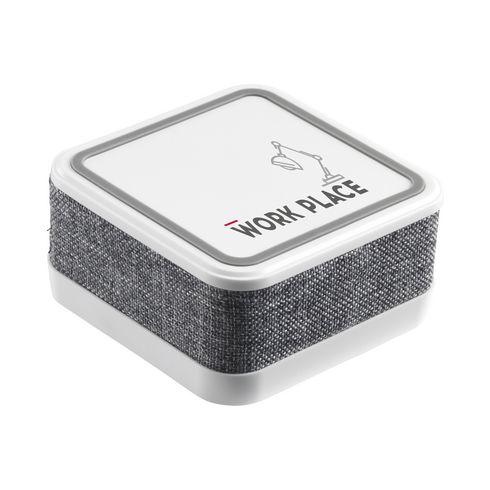 Trådløs lader med Bluetooth høyttaler