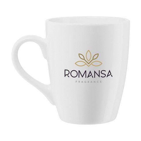 Krus i keramikk med logo, Zonia  350 ml
