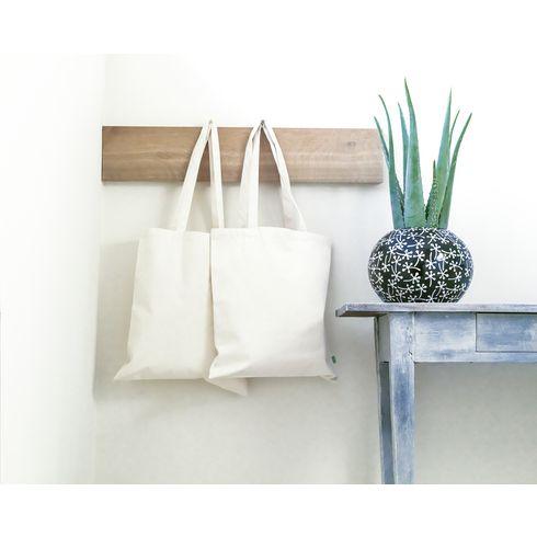 Handlenett i organisk bomull  320g/m²