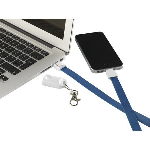 KeyCord SmartCharger 2-i-1 nøkkelsnor