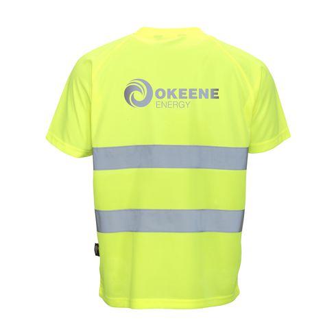Vizwell High Visibility T skjorte med trykk el. logo | IGO