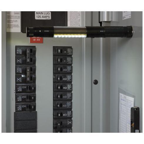 Scope COB teleksop lommelykt med magnet
