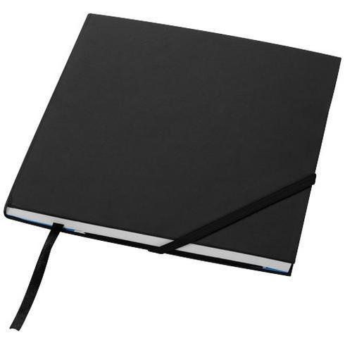 Delta notatbok med stivt omslag