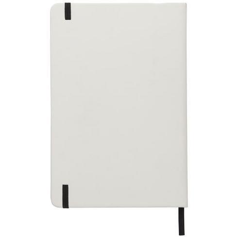 Spectrum notatbok i A5-format med farget bånd