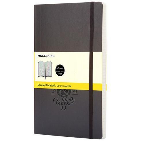 Classic PK notatbok med mykt omslag – rutet