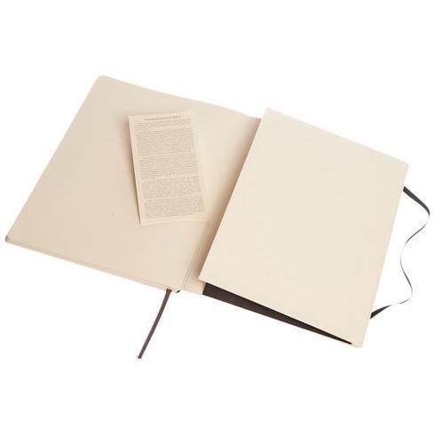 Classic XL notatbok med mykt omslag – stiplet