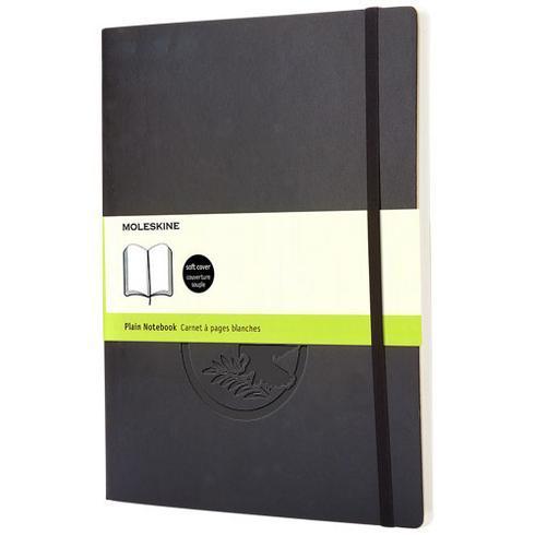 Classic XL notatbok med mykt omslag – vanlig