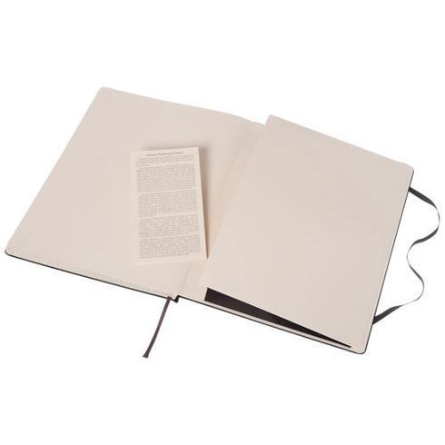 Classic XL notatbok med stivt omslag – rutet