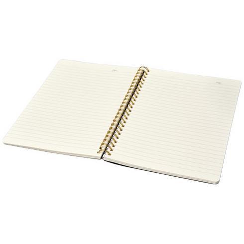 Spiraly A5 journal med skinnutseende