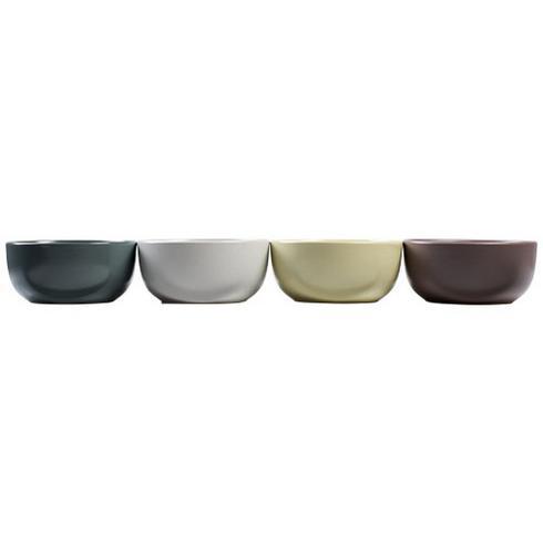York 4-delers flerfargede porsjonsformer