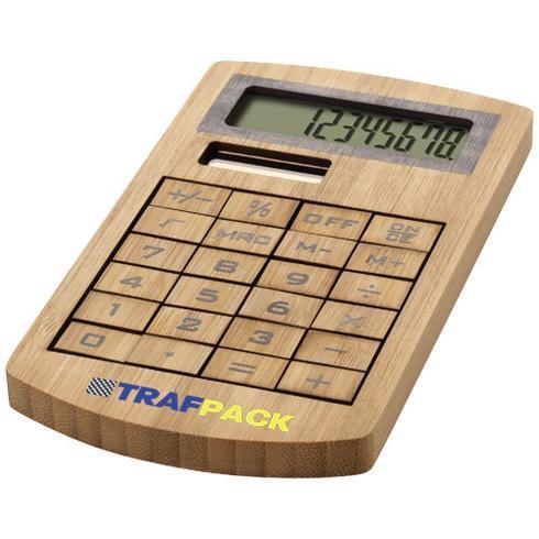 Eugene kalkulator laget av bambus