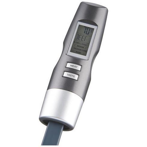 Wells digital gaffel med termometer
