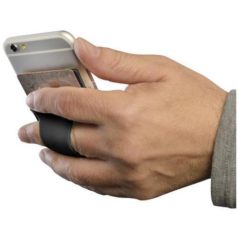 Storee silikonkortholder med fingerspor
