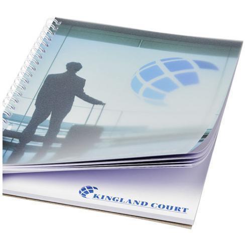 Desk-Mate® wire-o A5 notisbok PP-omslag