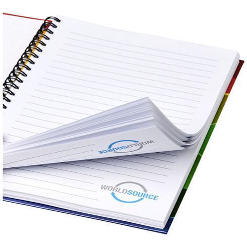Wire-o A4 notisbok hardt omslag