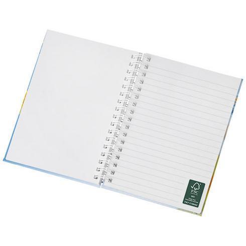 Wire-o A6 notisbok hardt omslag