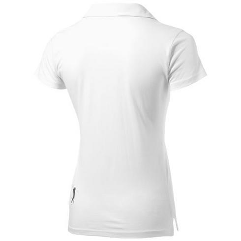 Let kortermet poloskjorte i jersey-stoff for kvinner