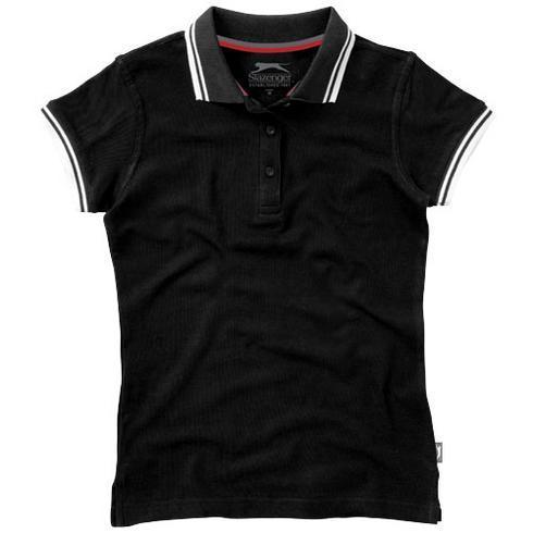 Deuce kortermet poloskjorte med kragelinje for kvinner