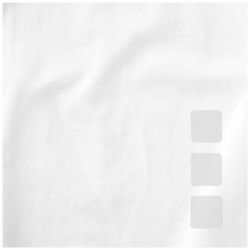 Ponoka langermet økologisk t-skjorte for kvinner
