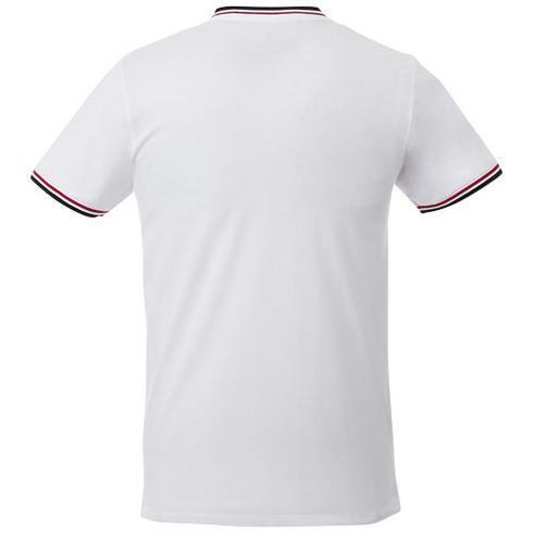 Elbert T-skjorte i piké til herre