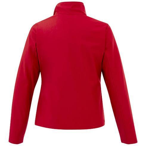 Karmine softshell-jakke til kvinner